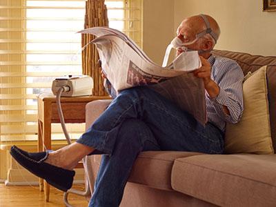 DPOC-paciente-tratamento-domiciliario-ventilação não invasiva