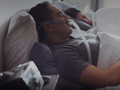 Início da terapia por pressão positiva nas vias aéreas (PAP)